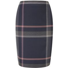 CC Navy Check Twill Pencil Skirt ($54) ❤ liked on Polyvore featuring skirts, bottoms, navy, women, navy blue skirt, reversible skirt, checkered skirt, navy blue pencil skirt and zipper skirt