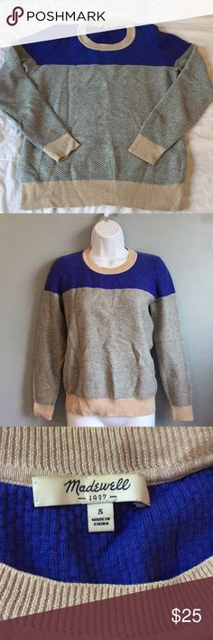 Madewell sweater size small Used sweater, still has lot of life left, size small Madewell Sweaters