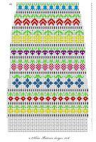 Taimitarha: Taimitarhan Kukkasukat Fair Isle Chart, Fair Isle Pattern, Swedish Weaving Patterns, Knitting Patterns, Knitting Charts, Knitting Socks, Tapestry Crochet, Knit Crochet, Mini Christmas Stockings