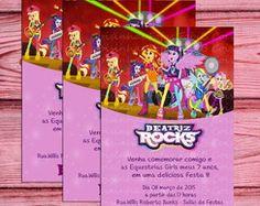 Convite Equestria Girls