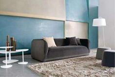 Abbinare il grigio alle pareti - Arredi grigi e pareti bicolore