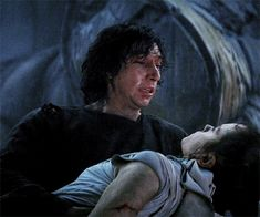 """""""He cast his gaze around the ruined cathedral, as if answers might lie in the shadows. Just aching emptiness and a sense of loss so sharp and terrible it was like a vise around. Kylo Rey, Kylo Ren And Rey, Star Wars Ships, Star Wars Art, Reylo, What Dreams May Come, Kylo Ren Adam Driver, Bae, Star Wars Kylo Ren"""