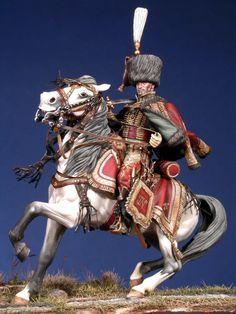 Major degli ussari della guardia del Regno di Napoli