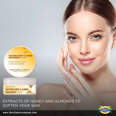 Pakistan's premium online vitamin company delivering Skin care,Hand sanitizer, Supplements, Weight loss, House hold products for men and women. Vitamin Company, Honey Almonds, Almond Cream, Stay Young, Skin Brightening, Nice Body, Whitening, Body Care, Vitamins