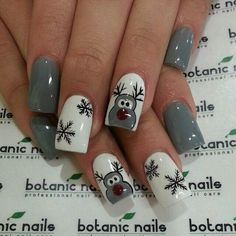 Imagem de nails, christmas, and winter
