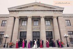 Wedding. Liuna Station. Hamilton, Ontario. Wedding Venue & Banquet Hall. Hamilton Ontario, Ballrooms, Banquet, Real Weddings, Wedding Venues, Street View, Events, Party, Wedding Reception Venues