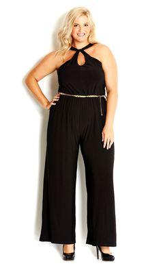848a1d0c34c CIty Chic - DISCO QUEEN JUMPSUIT - Women s plus size fashion  citychic   citychiconline