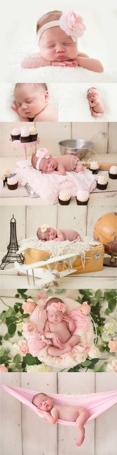 Newborn Baby Girl! #sleepingbeauty #alreadybaking #props #newbornsling #paris #travel #newborn #flowerheadband