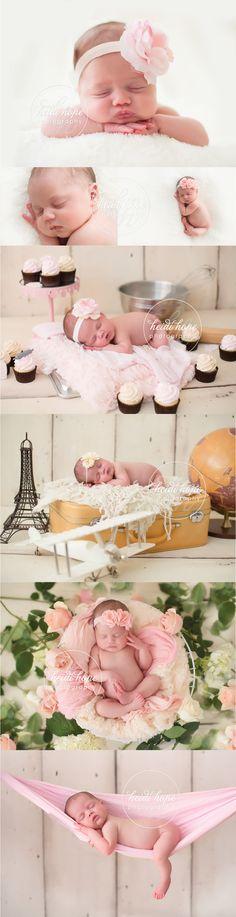 Newborn Baby Girl! #sleepingbeauty #alreadybaking #props #newbornsling #paris #travel #newborn #flowerheadband