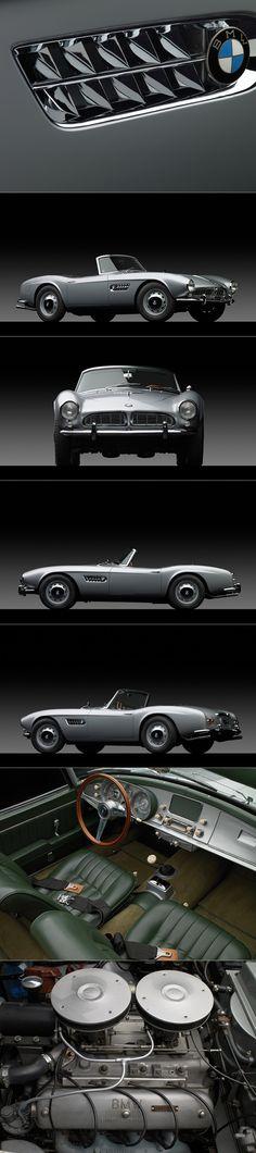 1958 BMW 507 / Germany / silver / Photography: Michael Fuhrmann