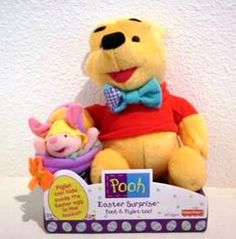 DISNEY POOH & PIGLET EASTER SURPRISE NEW fisher price        Price: $19.99