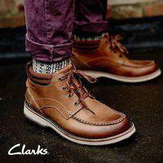 Clarks Autumn/Winter 2014 Collection   Men's boots   Mahale Mid
