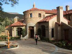 mediterranean inspired estate