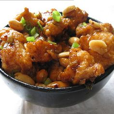 PF Chang's Kung Pao Chicken Copycat | Substitute sugar with Stevia or Honey
