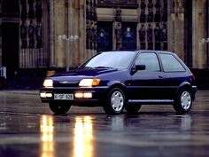 1990 Model Ford Fiesta XR2i