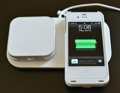 Duracell PowerMat // Charge your phone wirelessly