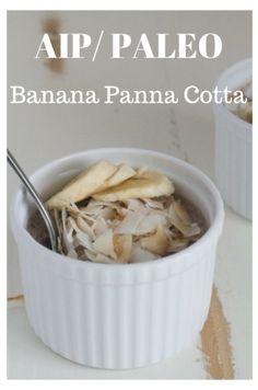 Banana Panna Cotta |