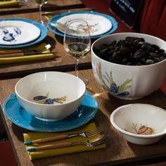Gien - 'Grands Crustacés' Dinnerware Collection   Artedona.com