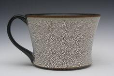 great crackle glaze, Jeremy Ayers Pottery
