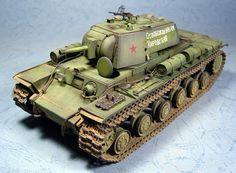 KV-8 by Herbert Cheng (Tamiya Conversion 1/35)