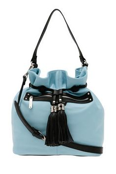 Wayne Cooper 'Ashley' Bucket Tote in Blue Wayne Cooper, Ashley S, Bucket Bag, Purses, Blue, Bags, Handbags, Pouch Bag, Wallets