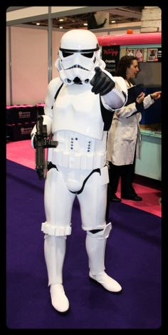 Star Wars - Storm Trooper Cosplay at London Comic-Con
