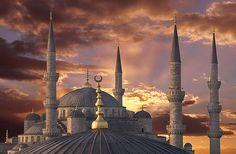 Dusk At Sultanahmet - Sultanahmet, Istanbul