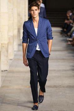 Well, it's Hermes ..... Hermès Menswear Spring 2014