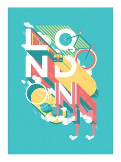 Show us your type - London by Pablo Álvarez on Behance