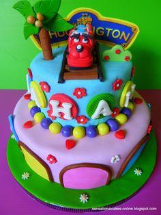 Girl Chuggington cake