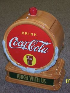Coca-Cola Lunch With Us Cookie Jar