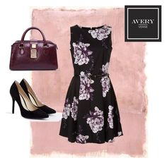 """The Sublime in Purple"" by averyverse ❤ liked on Polyvore featuring Rothko, JustFab, handbag, luxury and averyverse"