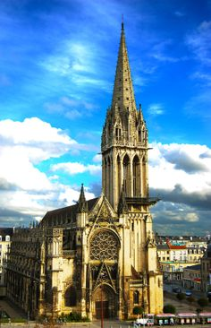 Caen Cathedral (France)
