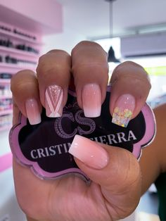 French Manicure Designs, Pretty Nail Designs, Cute Nails, Pretty Nails, Hair And Nails, My Nails, Glow Nails, Transparent Nails, Magic Nails
