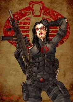 The Baroness Cobra Custom - GI Joe News