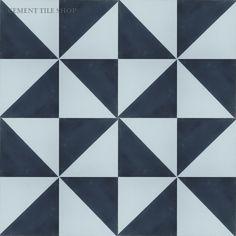 Cement Tile Shop - Handmade Cement Tile | Caribbean Diagonal