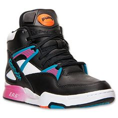 <p>The classic Reebok Pump design is back - and even better than ever - on the latest offering from the innovators at Reebok: The Reebok Pump Omni Zone Basketball Shoes. Boasting retro '90s swag and performance features for the court, these kicks look fresh no matter where you are. </p><p>Lightweight foam cushioning teams up with a high-top design to offer a plush feel and plenty of ankle support for the hardwood or the blacktop. A rugged outsole makes slipping a thing of the past, while the…