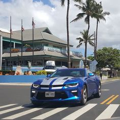 Nice 2017 Camaro!  #protecautocare #engineflush #carrepair #chevy #chevorlet #2017 #camaro #ss #v8 #american #muscle #car #silver #rally #stripes #palmtrees #nofilter #summer #fun #followus