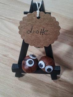 A Spoonful of Crafts: Navneskilt til efterårsbord / Autumn Table Name Stand