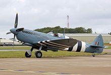 This Spitfire PR Mk XI (PL965) was built at RAF Aldermaston in southern England