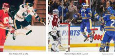 The Foligno Jump! Like father, like son. Buffalo Hockey, Buffalo Sabres, Usa Hockey, Hockey Season, Florida Panthers, Win Or Lose, Glamour Shots, Nhl, Cool Girl