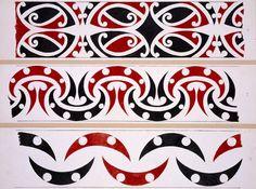 'Drawn by an old Maori Riwai Pakerau, of Waipiro Bay'. 15 is not in strict canon of Maori art. It is 'Rauru' (transcribed from Williams' text . Abstract Sculpture, Wood Sculpture, Bronze Sculpture, Maori Patterns, New Zealand Tattoo, Maori People, Maori Designs, Nz Art, Abstract Geometric Art
