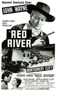 Red River Movie   RED RIVER (1948) - John Wayne - Montgomery Clift - Produced & Directed ...
