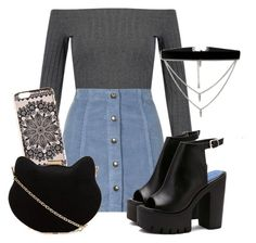 """""""We'll play the songs we used to love"""" by africaouass on Polyvore featuring moda, Topshop, New Look, ASOS, cute, cat, shawnmendes y threeemptywords"""