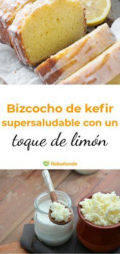 Kefir Recipes, Lemon Recipes, Cheese Recipes, Real Food Recipes, Cake Recipes, Dessert Recipes, Cooking Recipes, Healthy Snacks, Healthy Recipes
