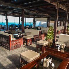Second floor at Granada Restaurant & Pub  #Granada  #Roof #View #Sea #Atmosphere #Pub #Bar #Event #Hurghada #redsea #Egypt