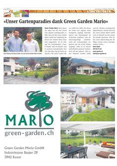 Green Garden Mario in der heutigen RZ-Ausgabe. Sonnige Grüsse