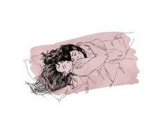 If only this drawing was a reality 💜 💜 Lesbian Art, Lesbian Pride, Lesbian Love, Suki Avatar, Art Sketches, Art Drawings, Yuri, Gay Aesthetic, Arte Horror