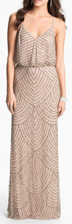 taupe sequin gown http://rstyle.me/n/npajapdpe