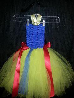 Snow White tutu dress by Fancythatcreation on Etsy, $35.00